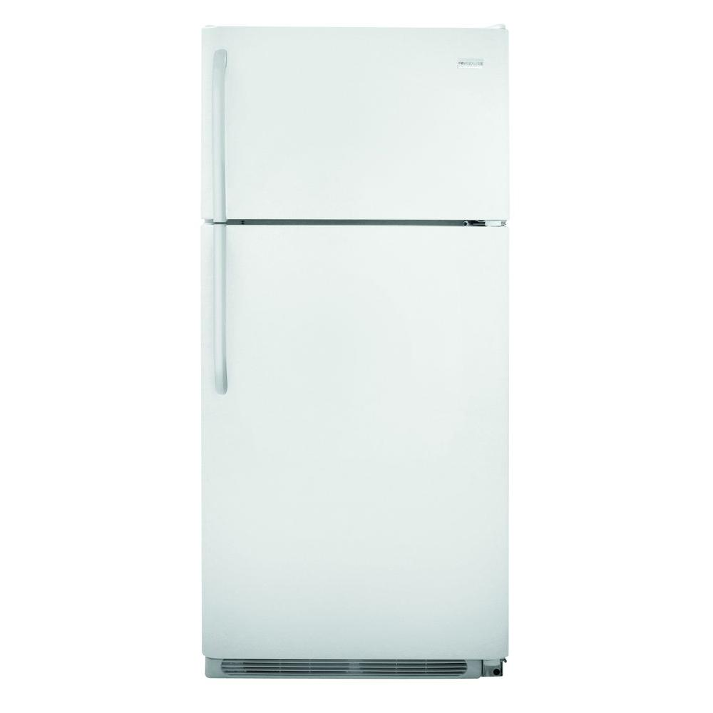 Frigidaire 18 Cu Ft Top Freezer Refrigerator In White