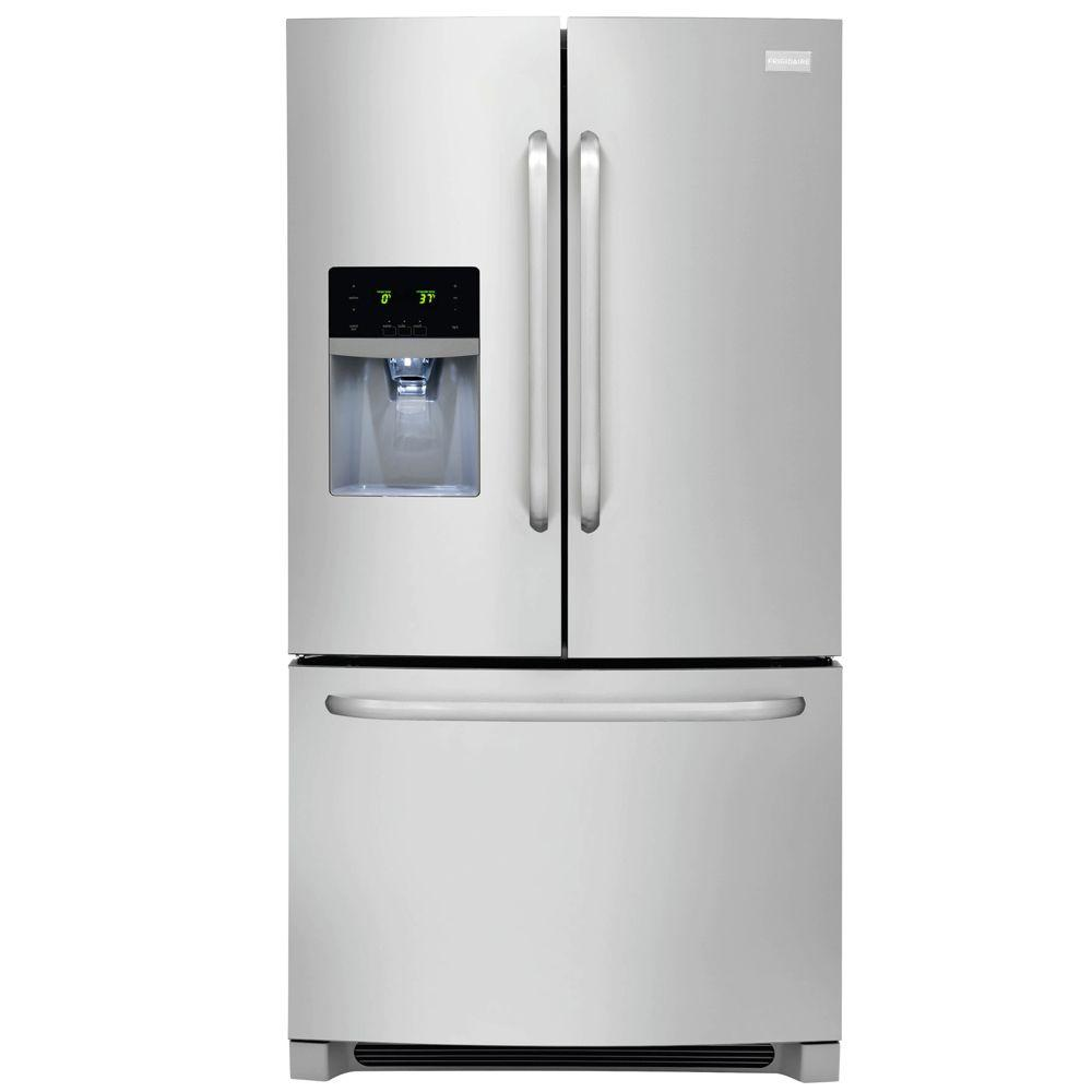 Frigidaire 2719 Cu Ft French Door Refrigerator In Stainless Steel