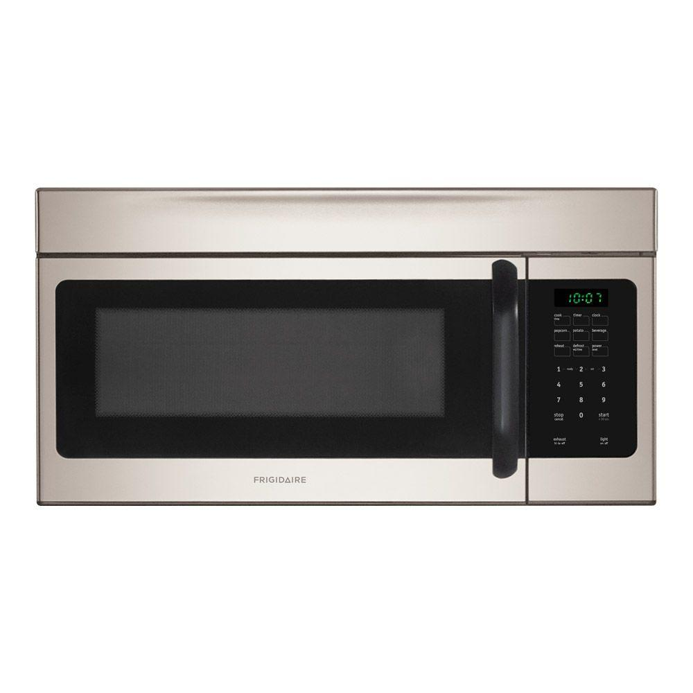 Frigidaire 1 6 Cu Ft Over The Range Microwave In Stainless Steel