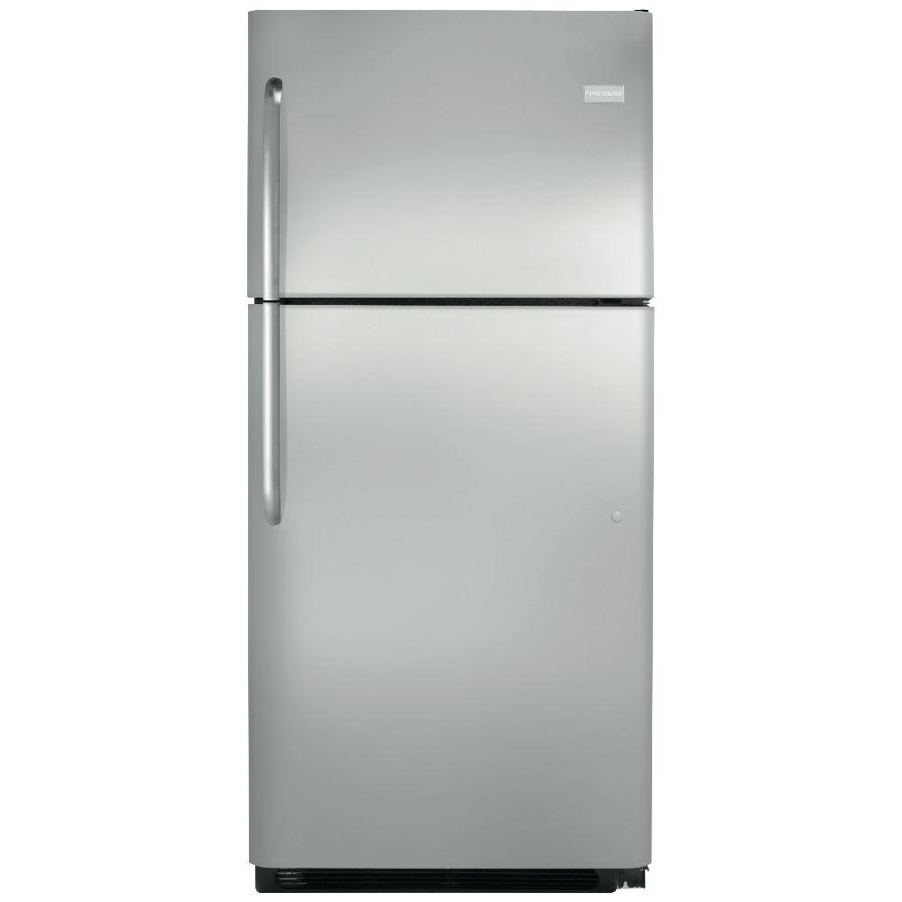Top Freezer Refrigerator in Stainless Steel  sc 1 st  Hodgins Home Appliances & Frigidaire 20 cu. ft. Top Freezer Refrigerator in Stainless Steel ...