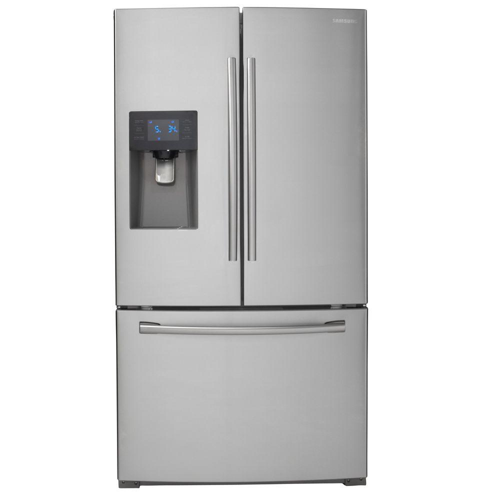 Samsung 246 Cu Ft French Door Refrigerator In Stainless Steel