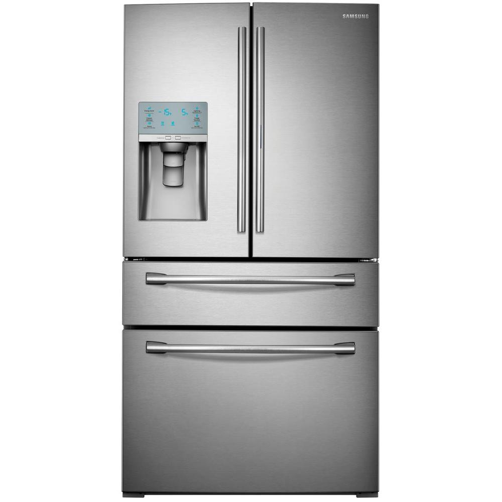 Samsung 295 Cu Ft Food Showcase 4 Door French Door Refrigerator