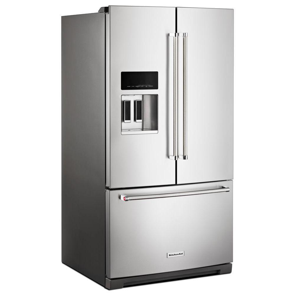 kitchenaid 27 cu. ft. french door refrigerator in